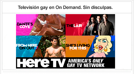 Gay television On Demand. Sin disculpas.