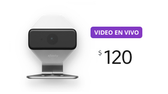 Cámara con video en vivo $120