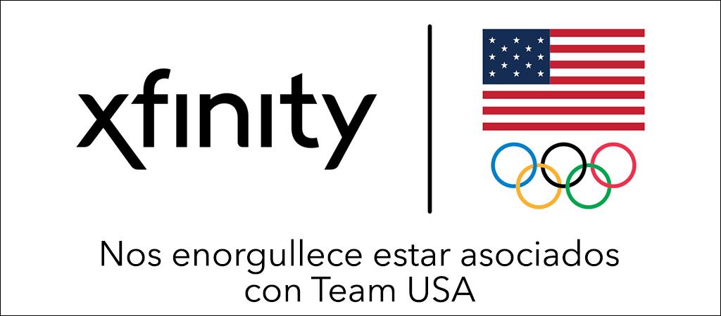 Xfinity, orgullosopatrocinador del equipo de EE. UU en lasOlimpiadas2020