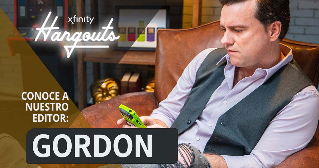 Gordon, editor de juegos de Xfinity