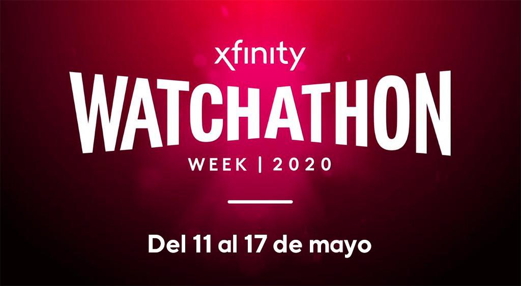 Logo de Watchathonen Xfinity