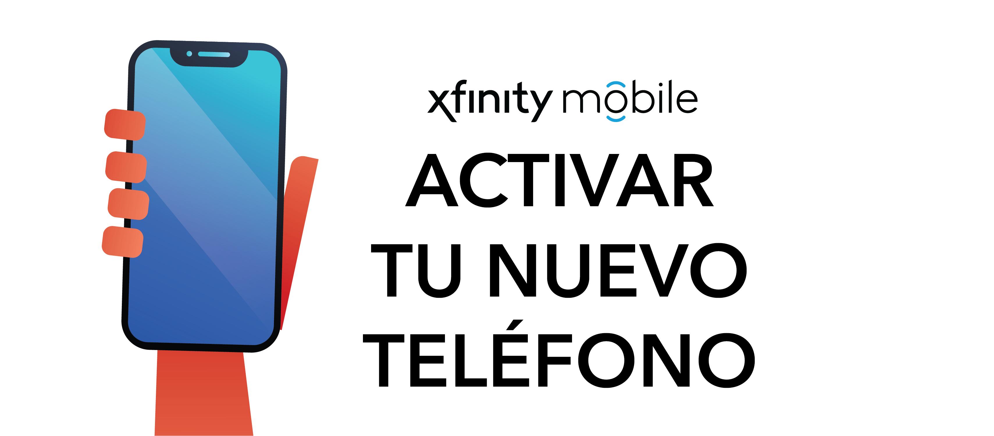 Activación de un nuevo teléfono Xfinity Mobile