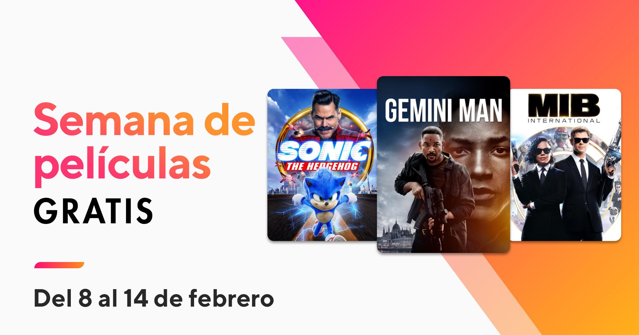 Semana de películas gratis en Xfinity, de2/8 a 2/14