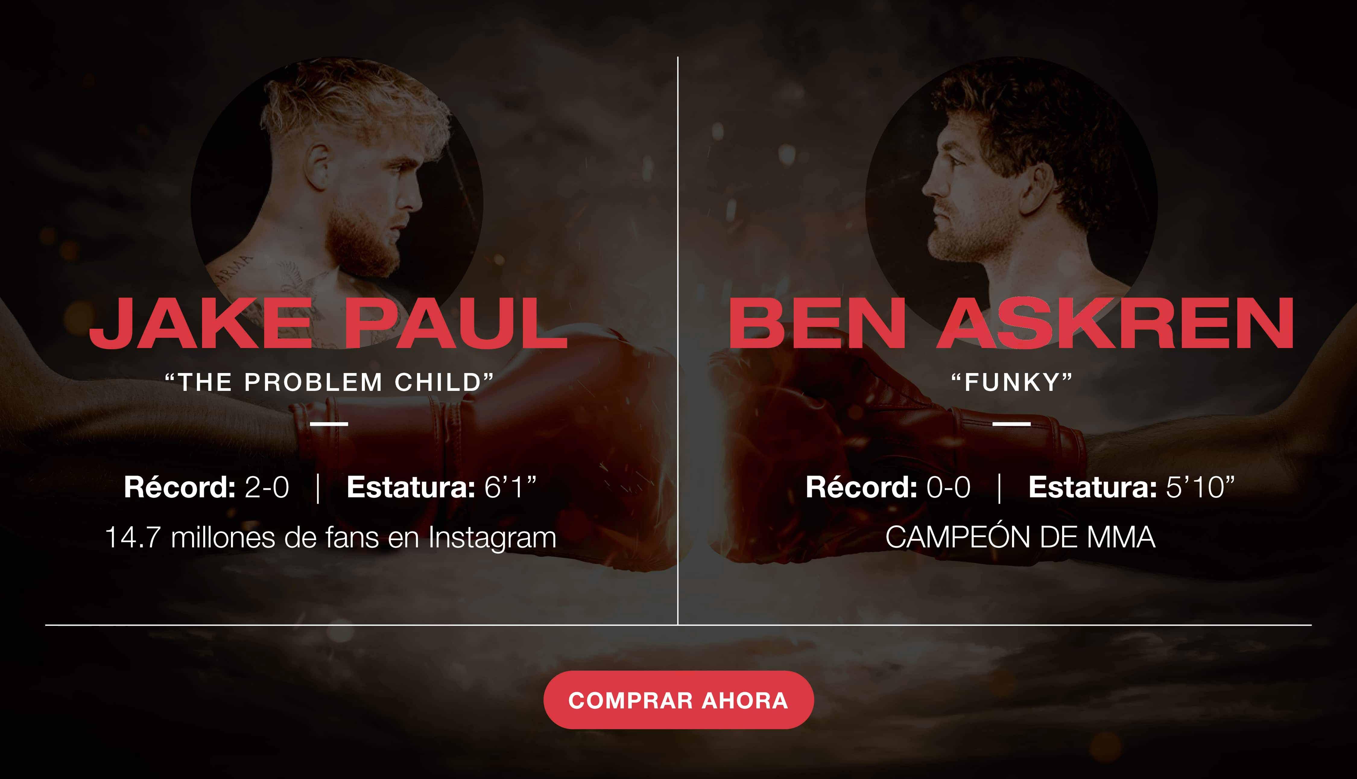 Combate estelar: Jake Paul vs. Ben Askren