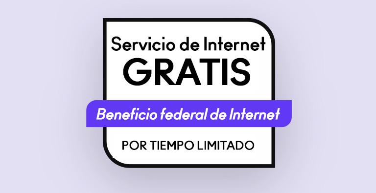 Servicio de Internet gratis - Beneficio federal de Internet - Solo por tiempo limitado - mobile