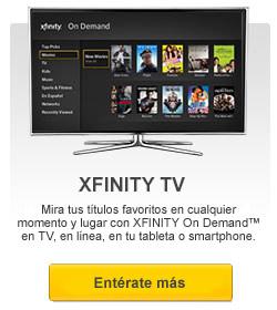 Entérate más acerca de XFINITY TV