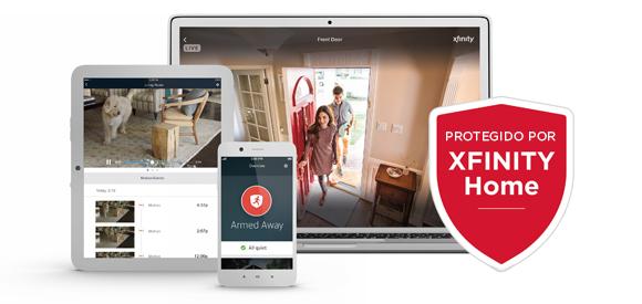 XFINITY Home App en una tableta